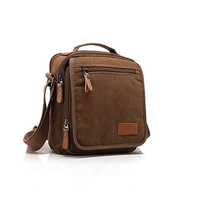 CBB1150-1 Small Capacity Canvas Shoulder Bag